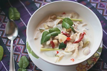Cách nấu Súp gà nấu nước cốt dừa, bổ và rẻ