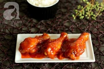 Cách làm thịt gà rang chua ngọt