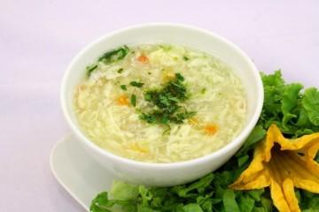 Cách làm món súp gà chua cay