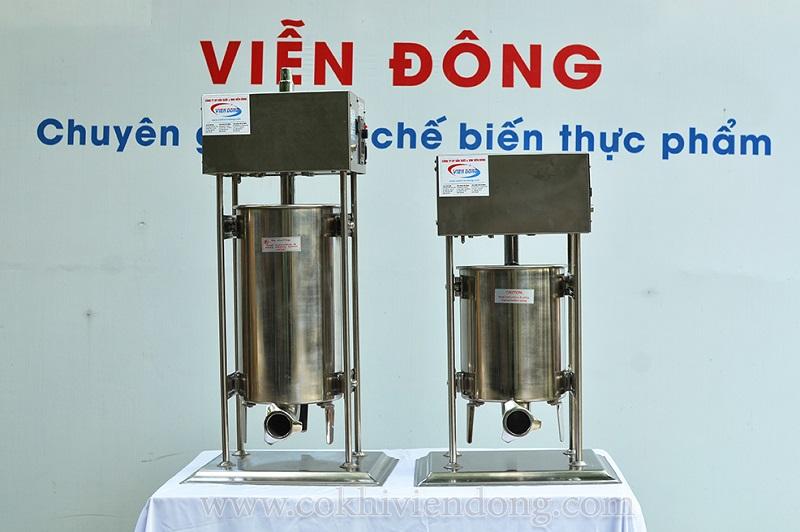 Máy nhồi xúc xích ETV-10 và ETV-15