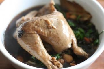 Cách làm món gà hầm thuốc bắc