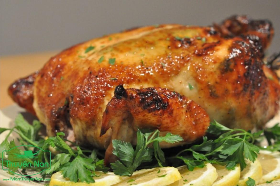thịt gà nướng muối ớt