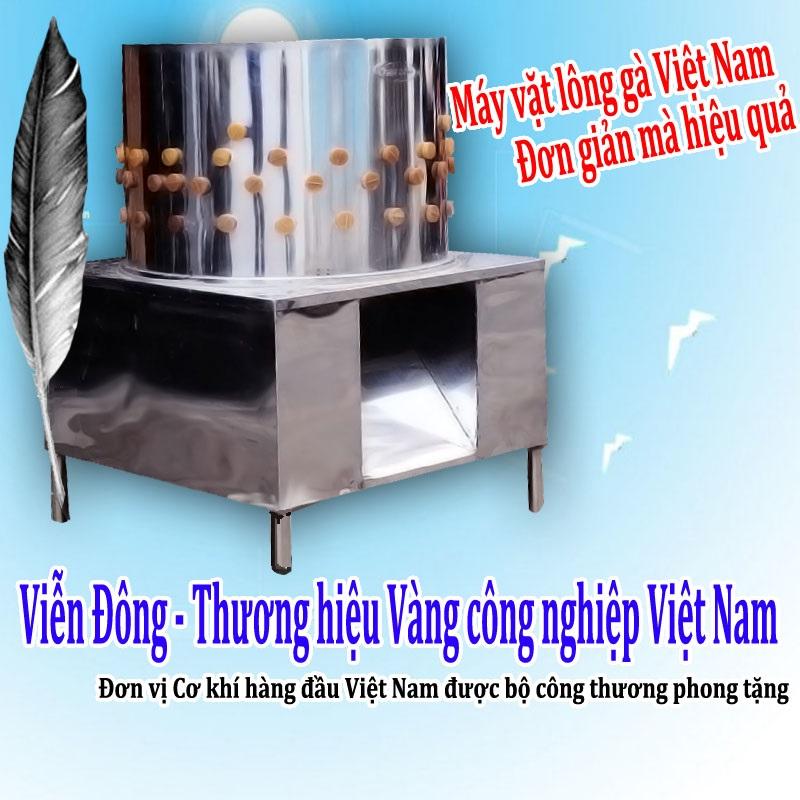 phân biệt máy vặt lông gà Việt Nam và Trung Quốc
