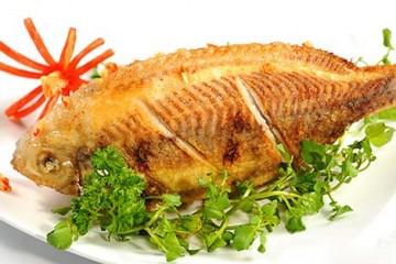 Cách chiên cá vàng giòn bằng bếp chiên