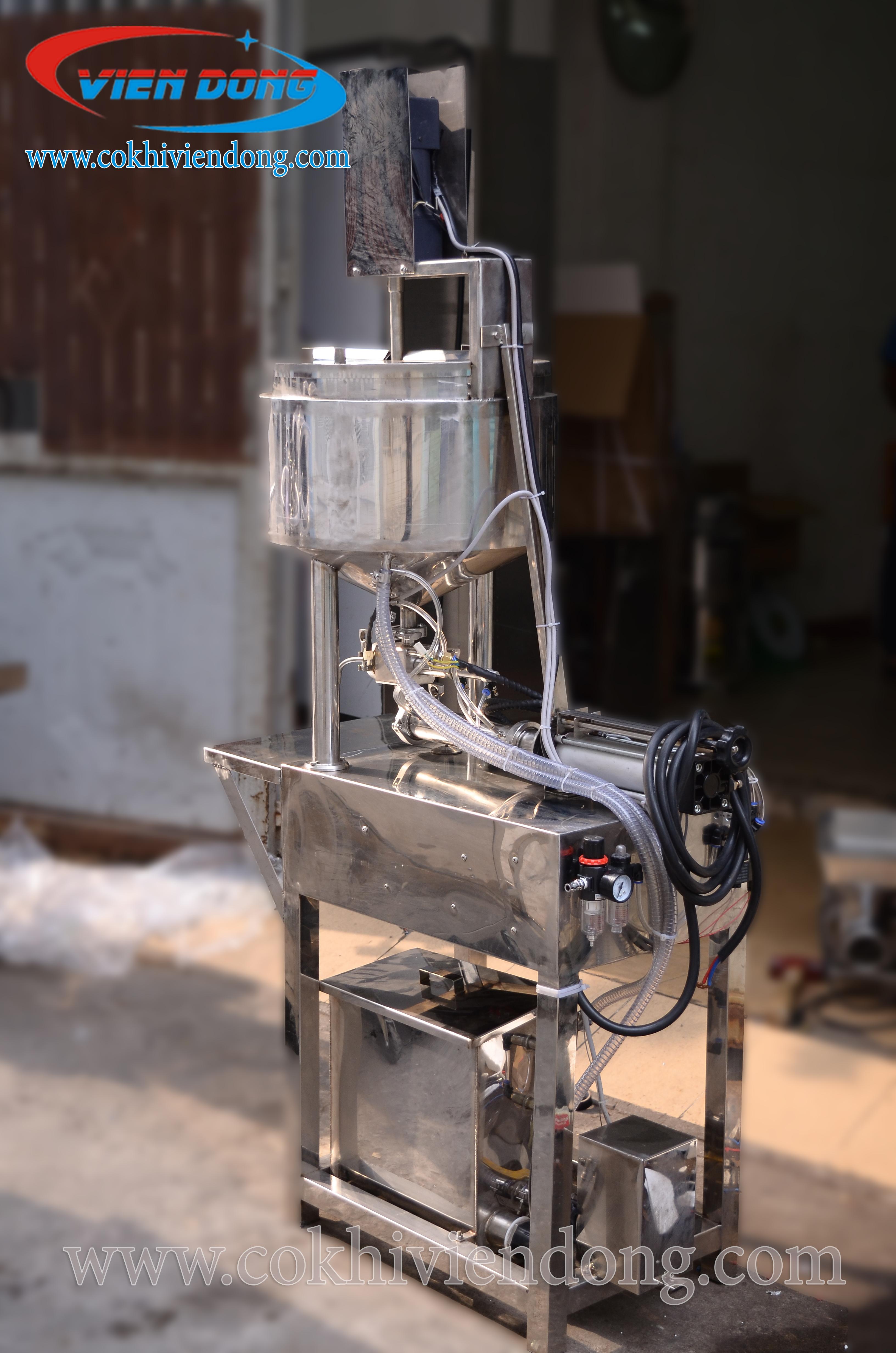 Phân loại các loại máy chiết rót định lượng Mini phổ biến