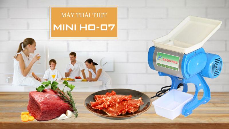 Máy thái thịt mini gia đình HO 07