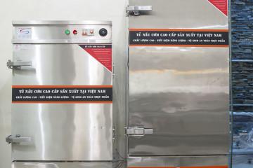 Hướng dẫn sử dụng tủ nấu cơm công nghiệp bằng điện Việt Nam