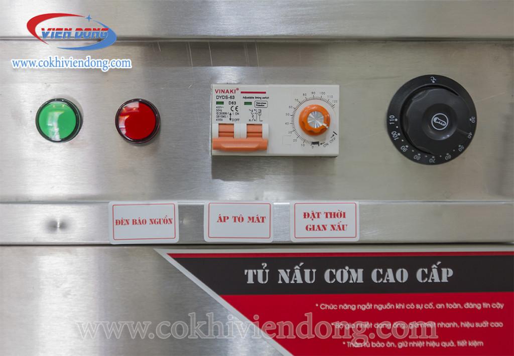Tủ nấu cơm công nghiệp 8 khay 4