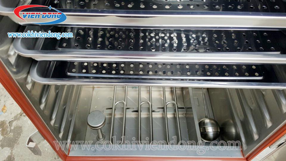Tủ nấu cơm công nghiệp 8 khay