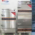 Tủ hấp giò chả 12 khay dùng điện và gas 1