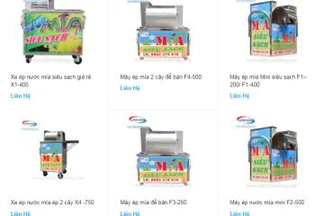 Mua máy ép nước mía siêu sạch hãng nào tốt nhất?