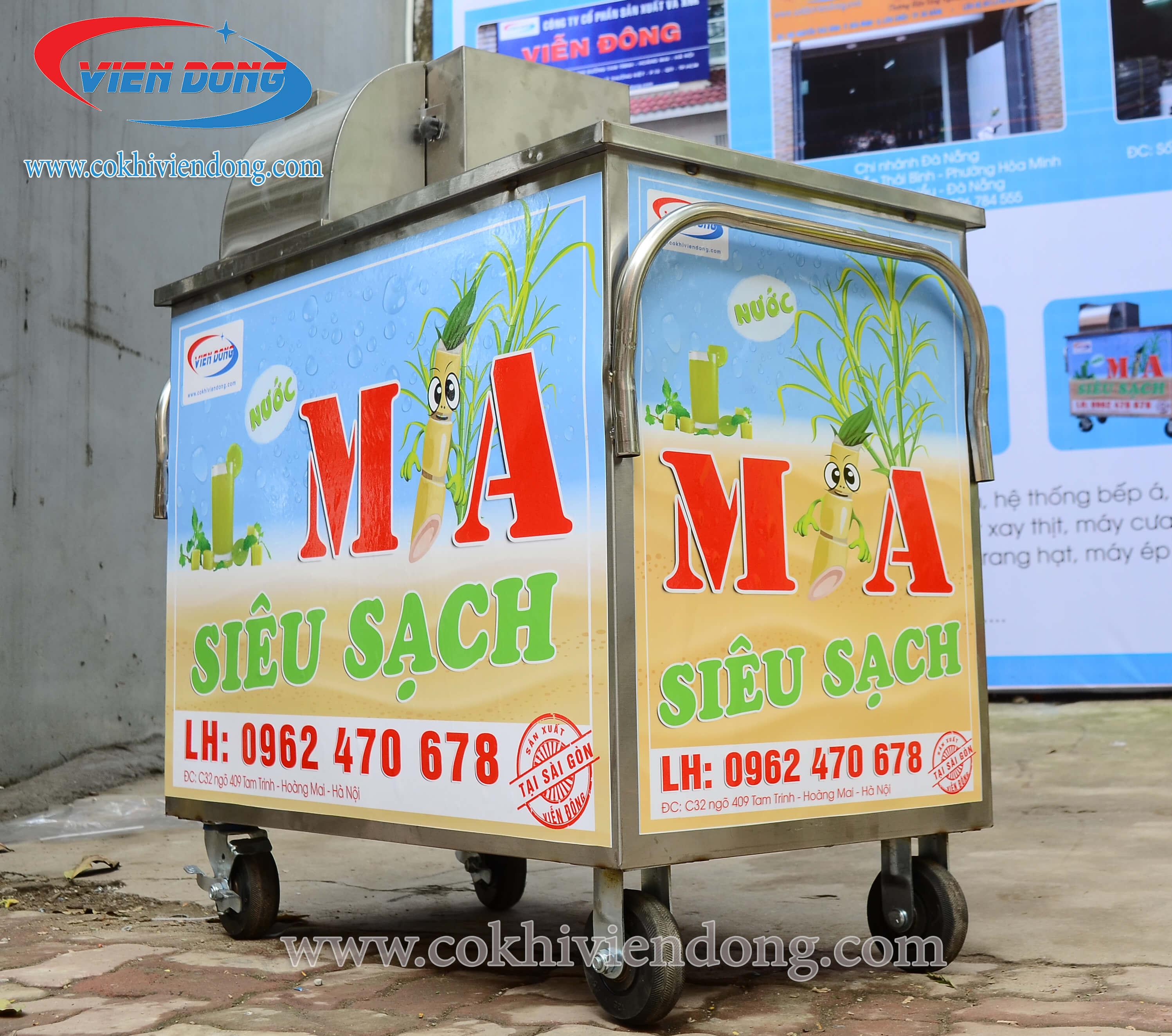 Vì sao bạn nên chọn xe nước mía siêu sạch Viễn Đông