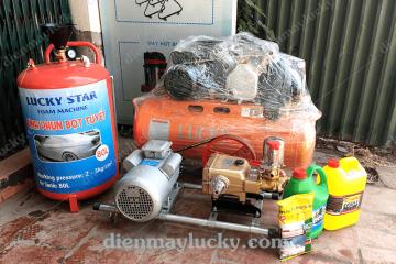 Bộ thiết bị rửa xe máy chuyên nghiệp gồm những gì?