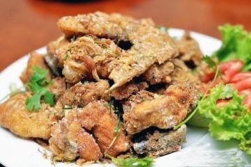 Cách nấu gà rang muối
