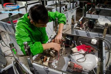 Xưởng sản xuất máy vặt lông gà