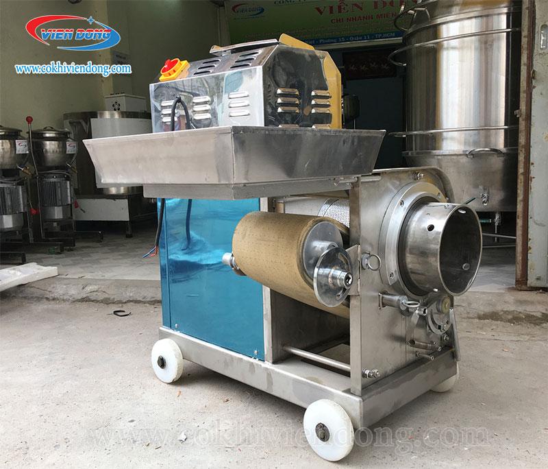 Chất liệu Inox 304 cao cấp của máy