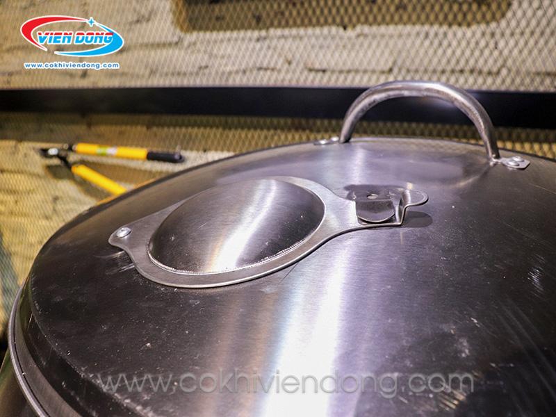 Lò quay vịt inox 80cm